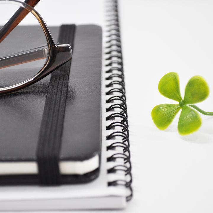 2つのノートに分けて記録する